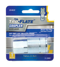 Tru-Flate  Steel  Air Coupler  3/8 in. Female  1 pc.