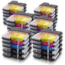 30 Druckerpatronen für Brother LC980 DCP 375 CW