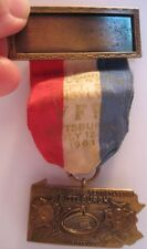 Old 1961 Dept of Pennsylvania VFW Veterens Medal Pittsburgh Auditorium w/ Ribbon