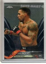 2018 Topps UFC Chrome ERYK ANDERS #7 RC Black Refractor 09/10 Rare SSP Rookie
