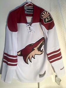 Reebok Premier NHL Jersey Arizona Coyotes Team White AZ sz L