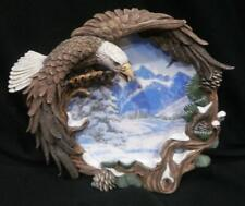 "The Hamilton Collection ""Winter Solstice"" - Four Seasons of the Eagle Plate"