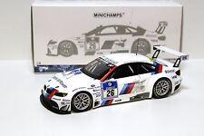1:18 Minichamps bmw m3 gt2 #26 nurburgring 2010 New en Premium-modelcars