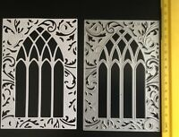 Gothic/Arch/Window/Frame/Ornate/Die / Cut/Cutting/BEAUTIFUL