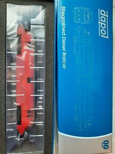 NEW DAPOL 4D-011-101 STREAMLINED RAILCAR 17 EXPRESS PARCELS BR CRIMSON