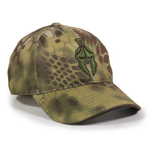 NEW Kryptek MANDRAKE Camo w/ Spartan Warrior Tactical Shooting Hunting Hat