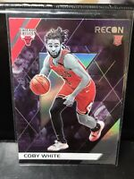 Coby White Chicago Bulls 2019-20 Panini Chronicles Recon RC Rookie Card #295