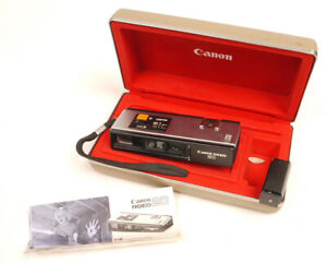 Canon 110ED 20 in Clamshell Case w/Instructions - Nice/Tested/Works