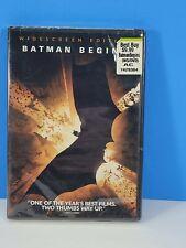 Batman Begins (Single-Disc Widescreen Edition) - Dvd - Sealed New