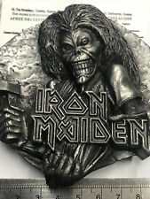 Iron Maiden Belt Buckle(22A15) SKULL Large Officially licensed product 1981 ILS1