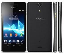 """New Unlocked Sony Xperia V LT25i 8GB Android Smartphone 4.3"""" GPS 13MP Black"""