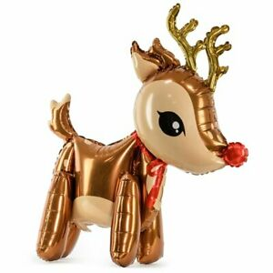 """Reindeer Foil Balloon - 32"""" - Christmas - Air Fill"""