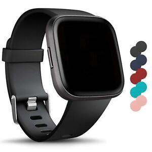 Für Fitbit Versa 2 Versa Lite Armband S L Ersatz Band Silikon Sport Ersatzband