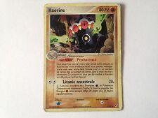 Carte Pokémon Kaorine Holo 5/107 ex deoxys