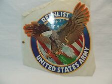 Vintage Reenlist United States Army Sticker New Old Stock