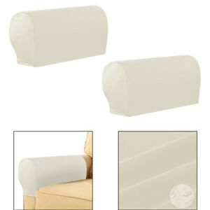 1 Pair Elastic Sofa Armrest Covers Furniture Couch Recliner Arm Slipcover