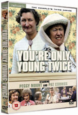 YOU'RE ONLY YOUNG TWICE the complete third series 3. Peggy Mount. New sealed DVD