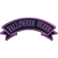 Kreepsville 666 Halloween Queen Horror Punk Embroidered Iron On Patch PAPUHQ