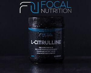 FOCAL NUTRITION 100% PURE L-CITRULLINE 300G *Pharmaceutical Grade*