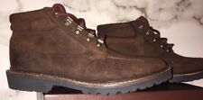 Vibram Gumlite Brown Suede Ankle Boots Nwt Stylish, Hiking, Comfort Msrp $225