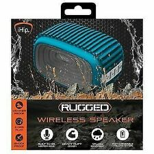 iHip Rugged Wireless Bluetooth Speaker Blue