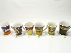 Cadbury - Nestle - Kraft Chocolate -  Creme Egg - Mini Egg Mugs Cups Collectable