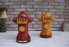 Creative Crafts Retro Fire Hydrant Piggy Bank Money Box Home Decor