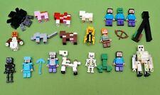 Lego Minecraft Figuren zum Auswählen 21114 21115 21116 21123 21141 21147