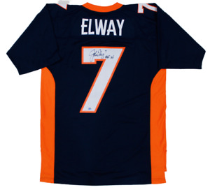 John Elway Denver Broncos Signed HOF Autograph Mitchell & Ness Jersey Fanatics