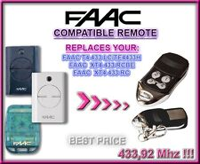 FAAC T4 433 LC, TE4433H, XT4 433 RCBE, FAAC XT4 433 RC compatibile telecomando