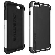 "Ballistic Apple iPhone 6S Plus (5.5"") SG Tough Jacket Rugged Cover Black / White"