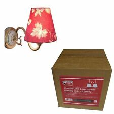 Needcraft Candle Clip Lampshade Making Kit 2 Pack (1 Pair)