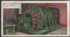 Reversing Electric Motor Used In Iron Steel Mill 90+ Y/O Ad Trade Card