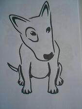 """Schablone /"""" Hund45 /"""" auf A4"""