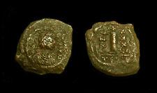 Justinian I Decanummium Thessalonica (19 mm, 3.5 gr)