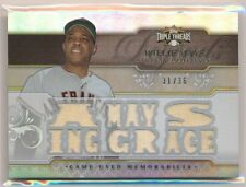 WILLIE MAYS 2014 Triple Threads Legends A-Mays-ing Grace 13x JERSEY 31/36 GIANTS