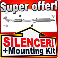 Front Silencer SEAT IBIZA SKODA FABIA ROOMSTER VW POLO 1.2  Exhaust Box RRJ