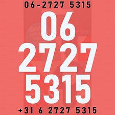 VIP-nummer 06 2727 5315 makkelijk mobiel 06-nummer Vodafone NL SIM-kaart prepaid
