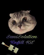 CatGenie 120 120+ Sanisolution Cartridge Reset Self Refill Kit