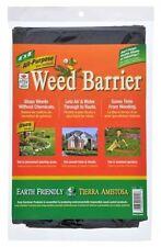 Weed Barrier Blocker All Purpose Black Garden Fabric Garden 4ft x 8ft