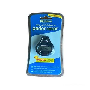 SPORTLINE Dual Function Fitness Step & Distance PEDOMETER - NEW in Package