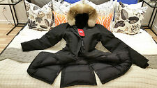 2018 LATEST CONCEPT RED LABEL NAVY BLUE CANADA GOOSE KENSINGTON XL PARKA JACKET