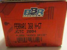BBR 1/43 FERRARI F360 MODENA N/GT JGTC 2004 RODREO DRIVE PJ352