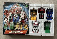 New listing Power Rangers Turbo Rescue Megazord Action Figure With Box