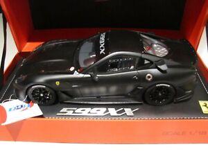 BBR 1:18 Ferrari 599xx Matt Black Limited Edition # of 50 pieces **rare item**