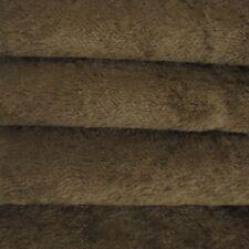 "1/4 yd Vis1 Antq Brown Intercal 6mm ""Flat"" Med. Dense German Viscose Fur Fabric"
