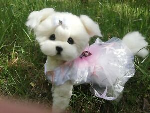 OOAK Needle Felted Maltese puppy/dog
