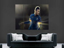 NEYMAR BRAZIL FOOTBALL  GIANT WALL POSTER ART PICTURE PRINT LARGE HUGE
