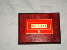 ROCKY PATEL SUNGROWN ROBUSTO WOODEN CIGAR BOX