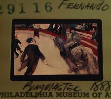 "Toulouse-Lautrec ""Circus Fernando"" Art Nouveau 35mm French Art Slide"